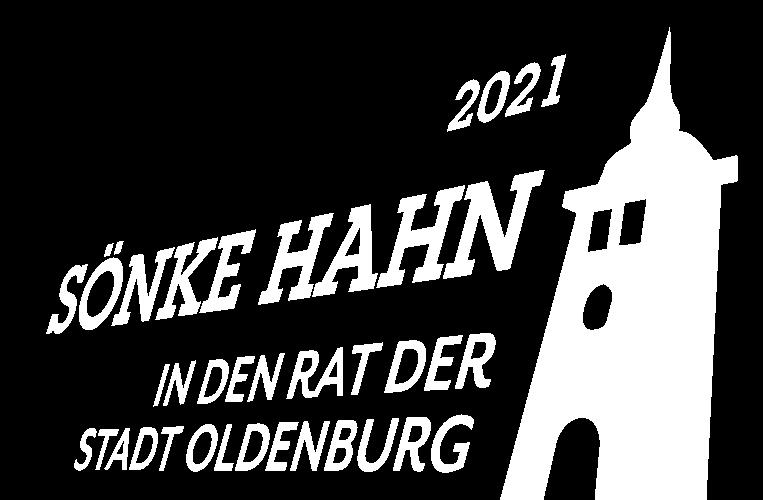 Dr. Sönke Hahn möchte in den Stadtrat Oldenburg — das Logo zeigt den Lappan
